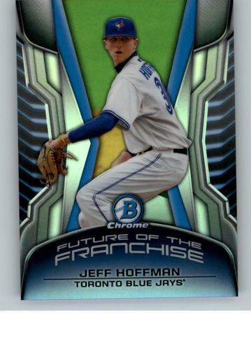 Photo of 2014 Bowman Chrome Draft Future of the Franchise Mini Jeff Hoffman  -- Rockies post-season