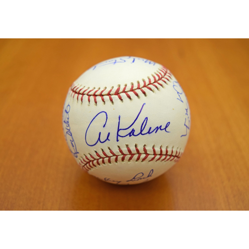 Photo of 1968 Detroit Tigers World Series Championship Team Signed Baseball - Not Authenticated by MLB