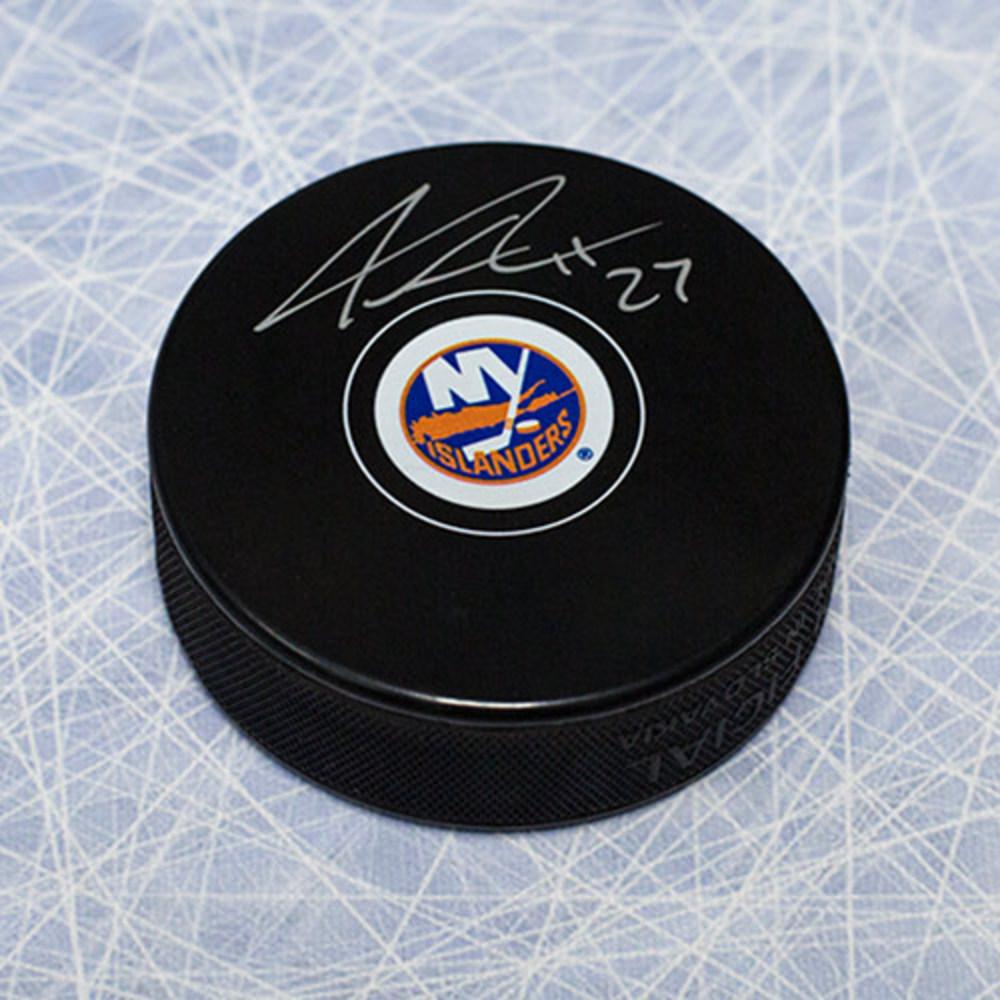 Anders Lee New York Islanders Autographed Hockey Puck