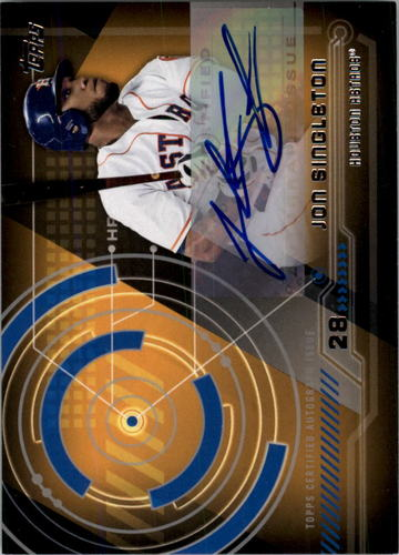 Photo of 2014 Topps Trajectory Autographs #TAJSI Jon Singleton UPD