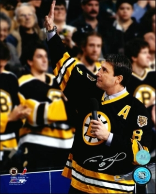 CAM NEELY Boston SIGNED 8x10 Photo Retirement Night Photo