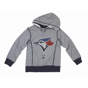 Toronto Blue Jays Toddler/Child Heritage Pullover Hoody by Majestic