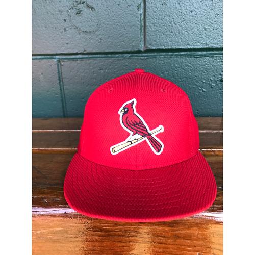 Photo of Cardinals Authentics: Matt Bowman 2016 Batting Practice Cap