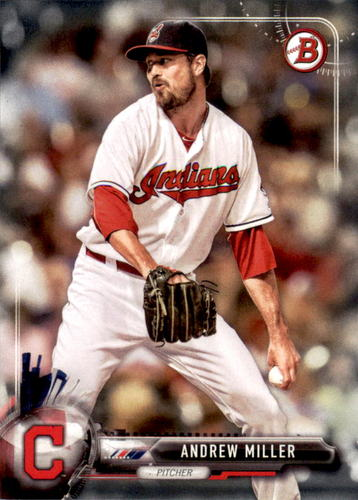 Photo of 2017 Bowman #38 Andrew Miller