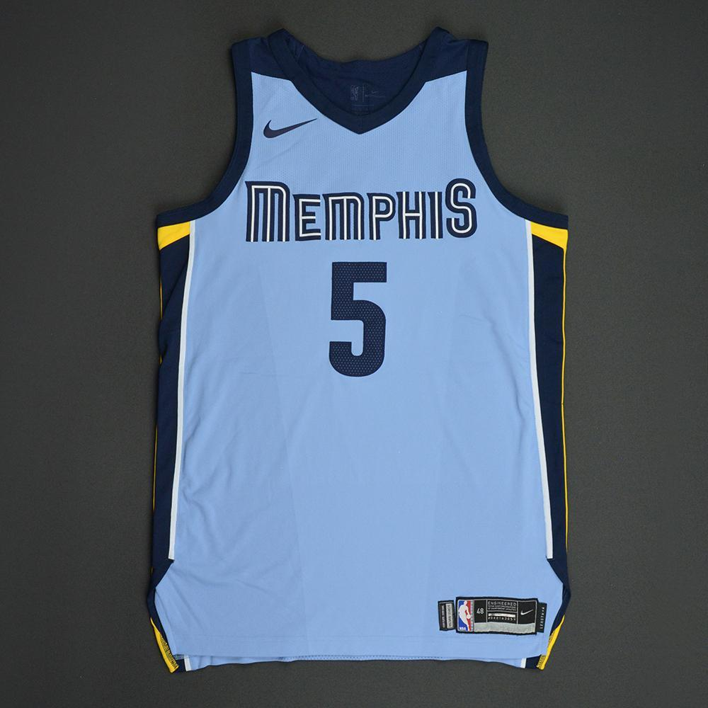 Andrew Harrison - Memphis Grizzlies - Statement Game-Worn Jersey  - 2017-18 Season