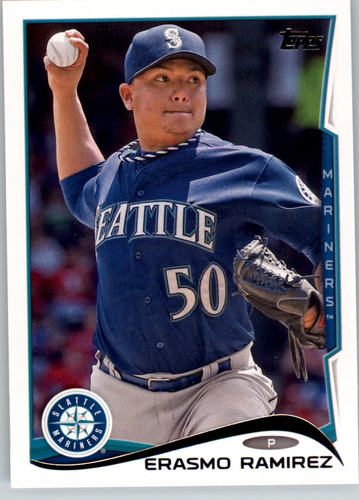 Photo of 2014 Topps #128 Erasmo Ramirez