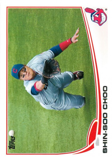 Photo of 2013 Topps #17 Shin-Soo Choo