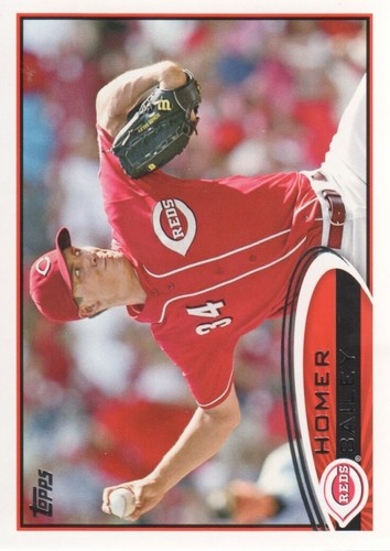 Photo of 2012 Topps #659 Homer Bailey
