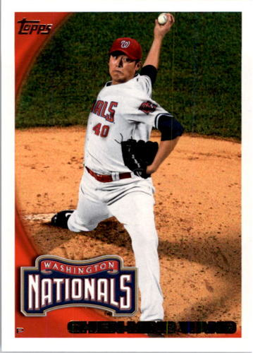 Photo of 2010 Topps #465 Chien-Ming Wang