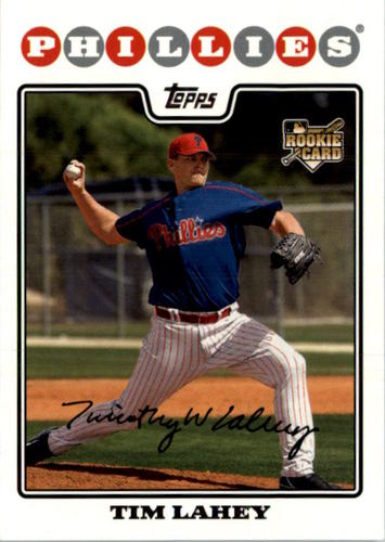 Photo of 2008 Topps #532 Tim Lahey RC