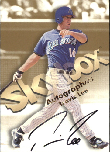 Photo of 1999 SkyBox Premium Autographics #35 Travis Lee