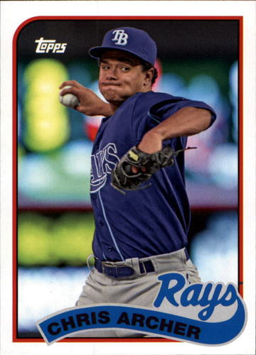 Photo of 2014 Topps Archives #180 Chris Archer
