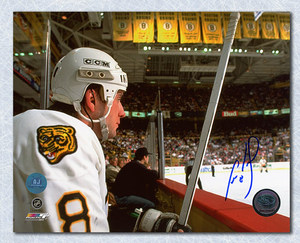 Cam Neely Boston Bruins Autographed Penalty Box Stare 8x10 Photo