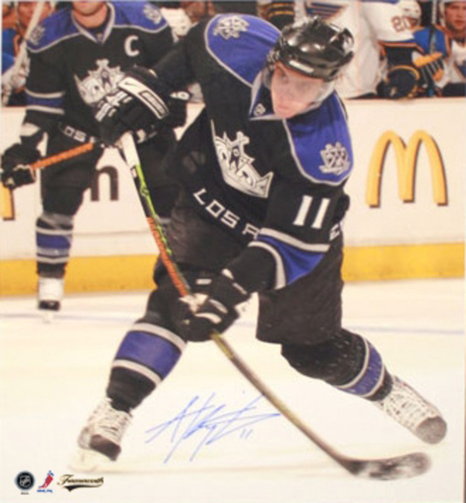 Kopitar, Anze Signed 16x20 Dark slapshot Los Angeles