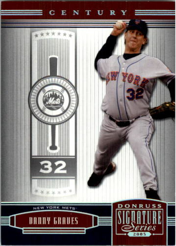 Photo of 2005 Donruss Signature Century Proofs Silver #75 Danny Graves