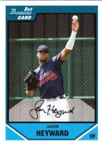 Photo of 2007 Bowman Draft Draft Picks #BDPP54 Jason Heyward Pre-rookie Card
