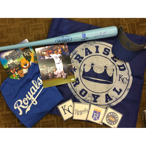 Photo of Autographed Whit Merrifield Bat and Photo Package