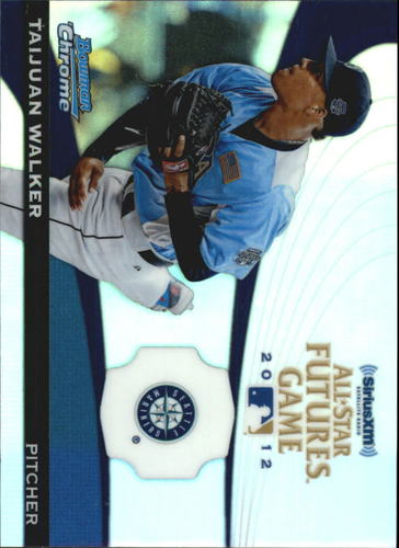 Photo of 2012 Bowman Chrome Futures Game #TW Taijuan Walker -- D'backs post-season