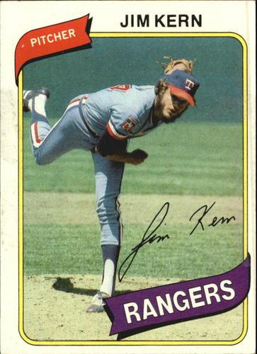 Photo of 1980 Topps #369 Jim Kern