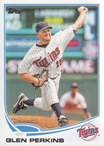 Photo of 2013 Topps #547 Glen Perkins