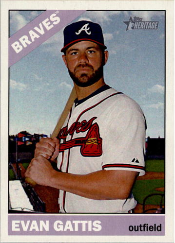Photo of 2015 Topps Heritage #130 Evan Gattis