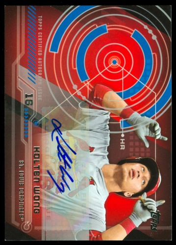 Photo of 2014 Topps Trajectory Autographs #TAKW Kolten Wong S2