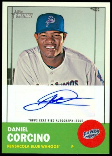 Photo of 2012 Topps Heritage Minors Real One Autographs #DC Daniel Corcino