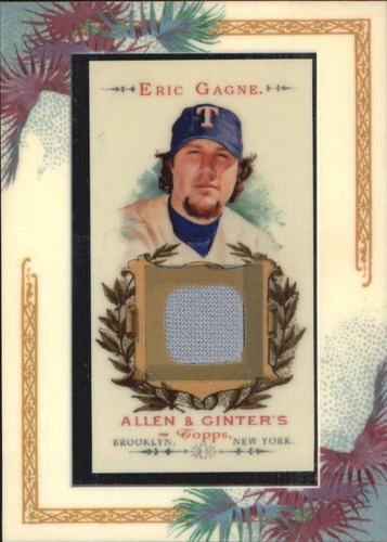 Photo of 2007 Topps Allen and Ginter Relics #EG Eric Gagne J