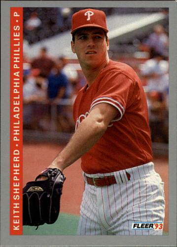 Photo of 1993 Fleer #109 Keith Shepherd RC
