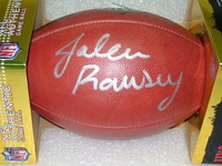 NFL - JAGUARS JALEN RAMSEY SIGNED AUTHENTIC FOOTBALL