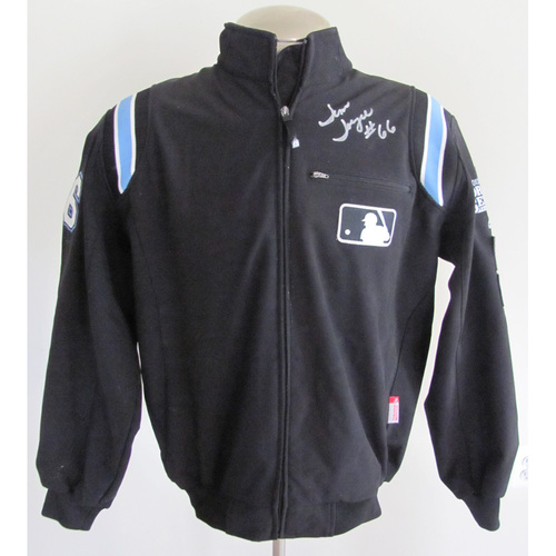 UMPS CARE AUCTION: Jim Joyce Signed 2013 World Series Jacket