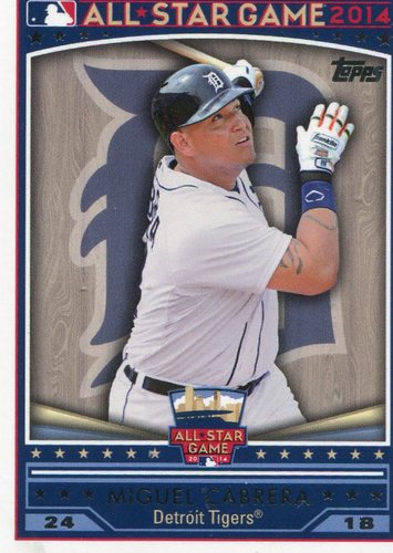 Photo of 2014 Topps All-Star FanFest #WR03 Miguel Cabrera