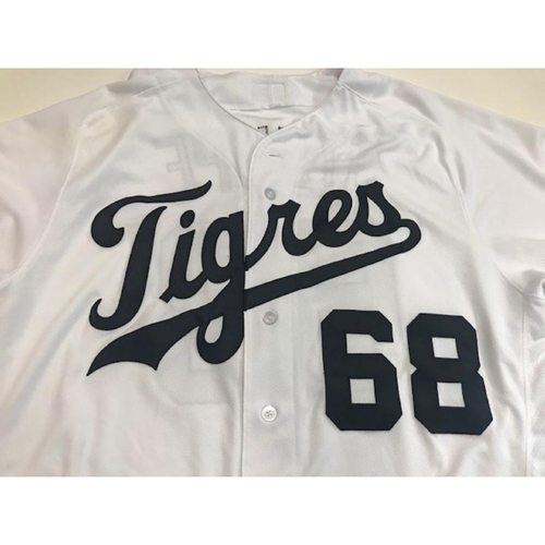 Photo of Game-Used Daniel Stumpf Fiesta Tigres Jersey