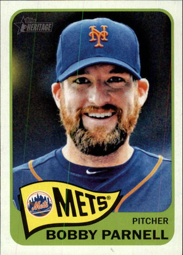 Photo of 2014 Topps Heritage #382 Bobby Parnell