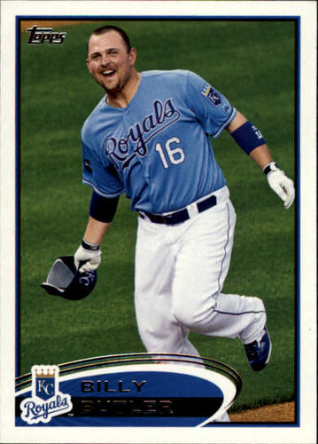 Photo of 2012 Topps #145A Billy Butler