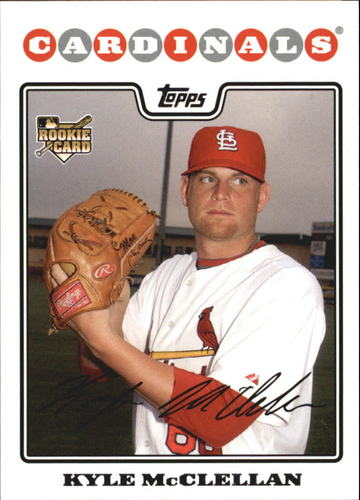 Photo of 2008 Topps #533 Kyle McClellan RC