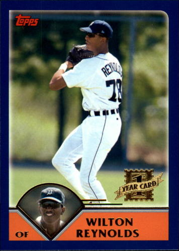 Photo of 2003 Topps Traded #T210 Wilton Reynolds FY RC