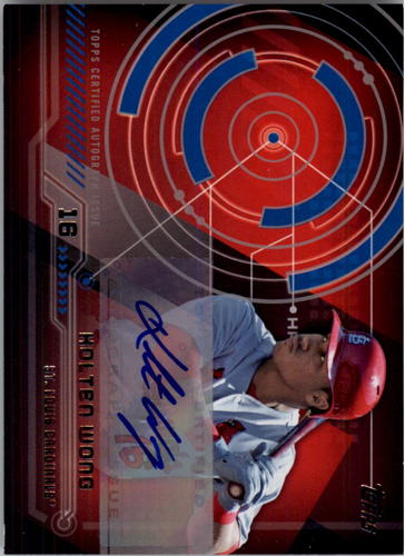 Photo of 2014 Topps Trajectory Autographs #TAKW Kolten Wong
