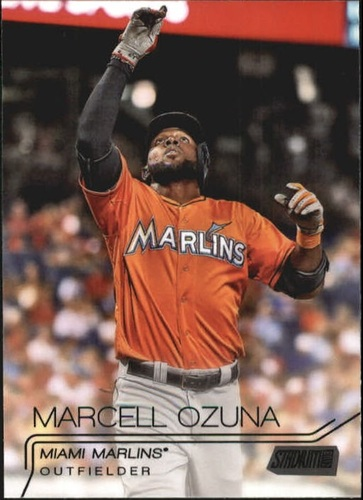 Photo of 2015 Stadium Club Black #77 Marcell Ozuna