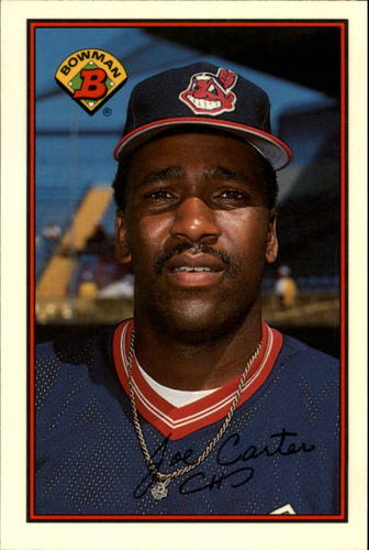 Photo of 1989 Bowman Tiffany #91 Joe Carter