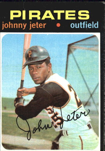 Photo of 1971 Topps #47 Johnny Jeter