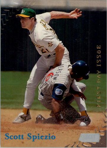 Photo of 1998 Stadium Club First Day Issue #19 Scott Spiezio