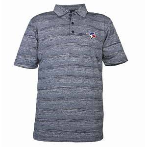 Formation Navy Golf Shirt by Antigua