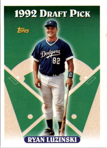 Photo of 1993 Topps #481 Ryan Luzinski RC
