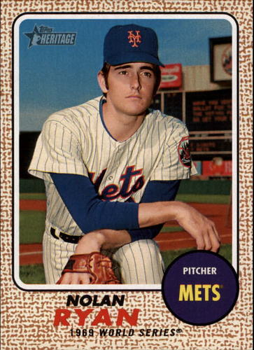 Photo of 2017 Topps Heritage Nolan Ryan Highlights #NRH2 Nolan Ryan