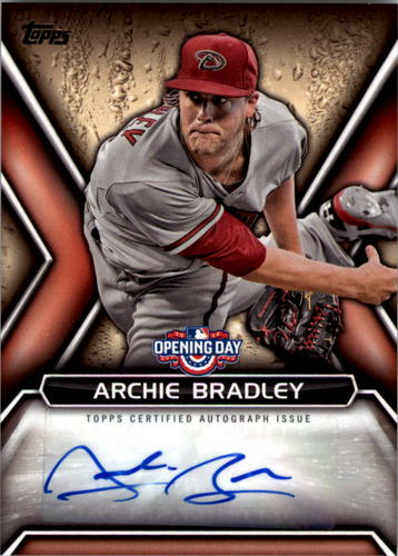 Photo of 2016 Topps Opening Day Autographs  Archie Bradley -- D'back post-season