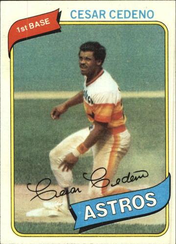 Photo of 1980 Topps #370 Cesar Cedeno
