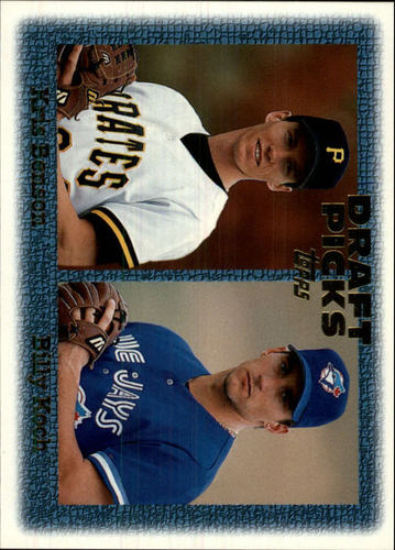Photo of 1997 Topps #481 K.Benson/B.Koch RC