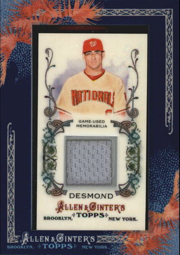 Photo of 2011 Topps Allen and Ginter Relics #IDE Ian Desmond