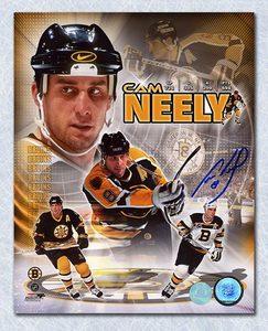 Cam Neely Boston Bruins Autographed Career Composite 8x10 Photo